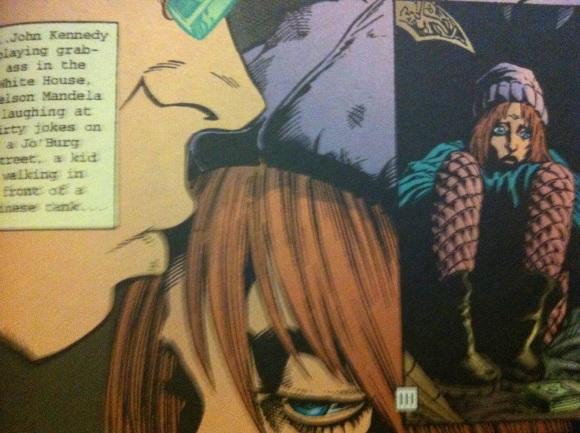 Transmetropolitan by Warren Ellis and Darick Robertson